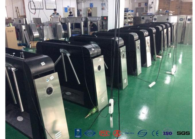 Security Controlled Access Turnstiles Electric Turnstile Access Control System With Counter