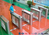 304 Stainless Steel Card Read Swing Arm Barriers Security Pedestrian Control System