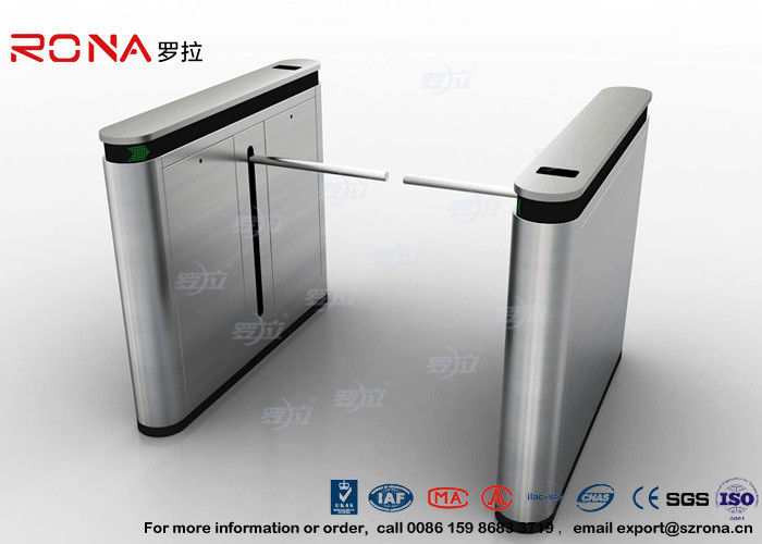 Fingerprint Drop Arm Turnstile Road Access Control Electronic Barrier Gates With CE approved