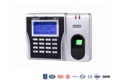 ABS Epoxy Security Biometric Fingerprint Reader , IP67 Electronic Attendance System