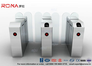 Fastlane Turnstile Remote Control Access Control Turnstiles Tempered Glass Sliding